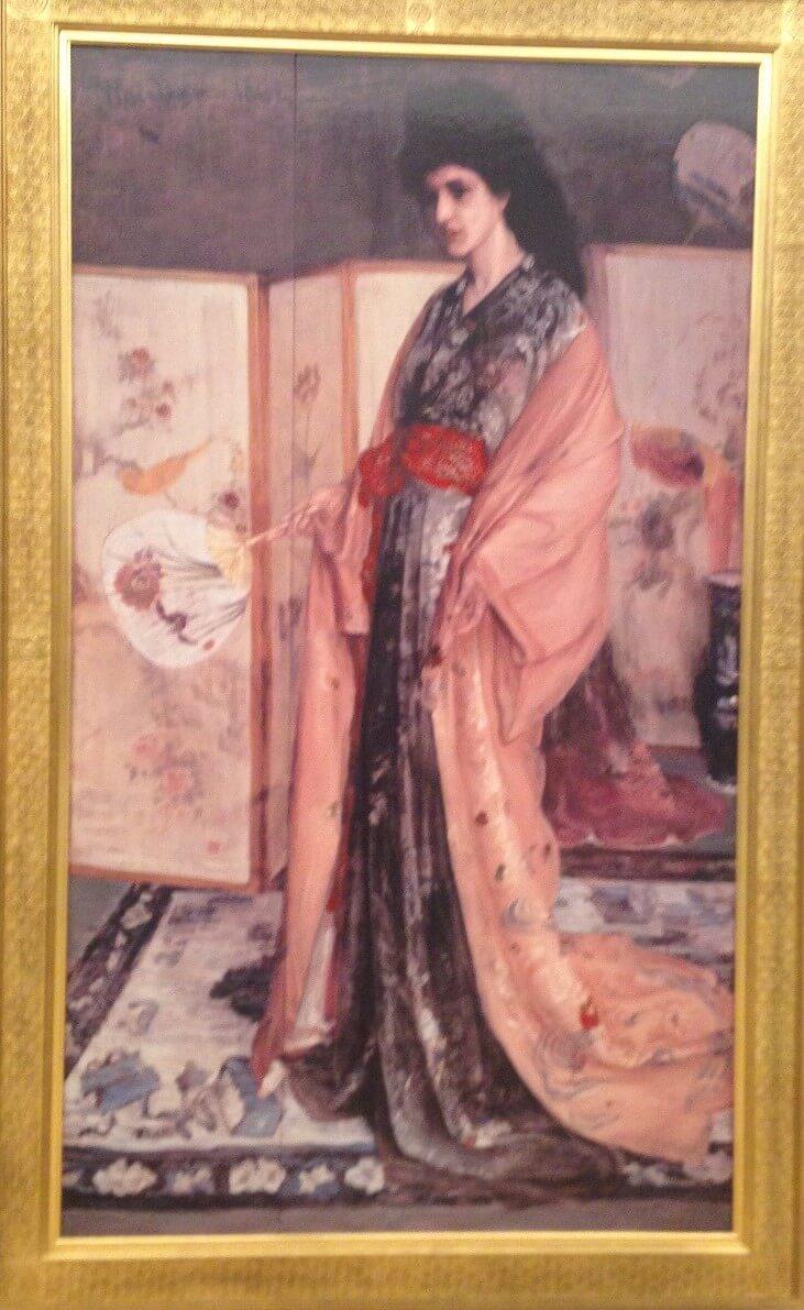 バラと銀色:陶磁の国の姫君 ホイッスラー