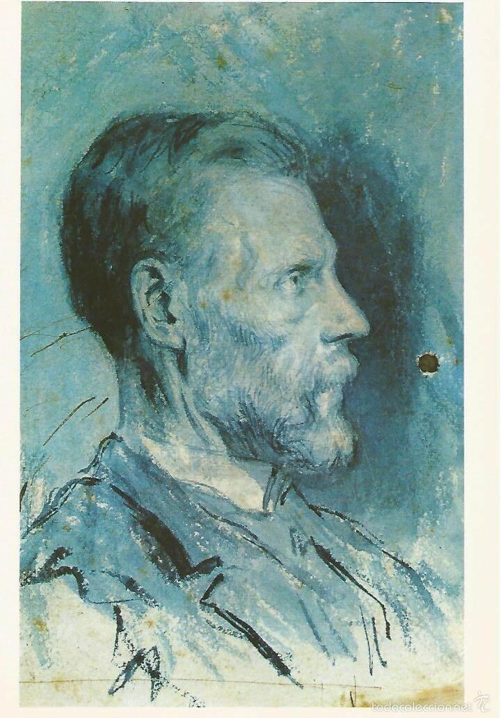 画家の父の肖像 パブロ・ピカソ