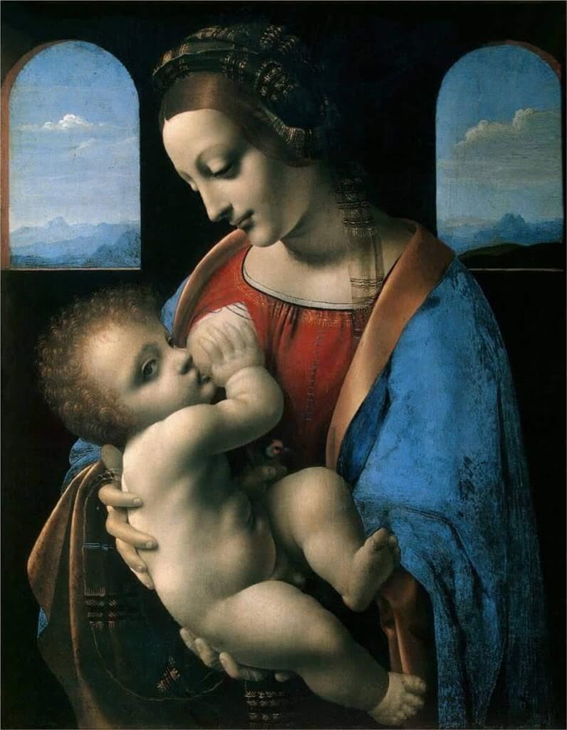 リッタの聖母 レオナルド・ダ・ヴィンチ