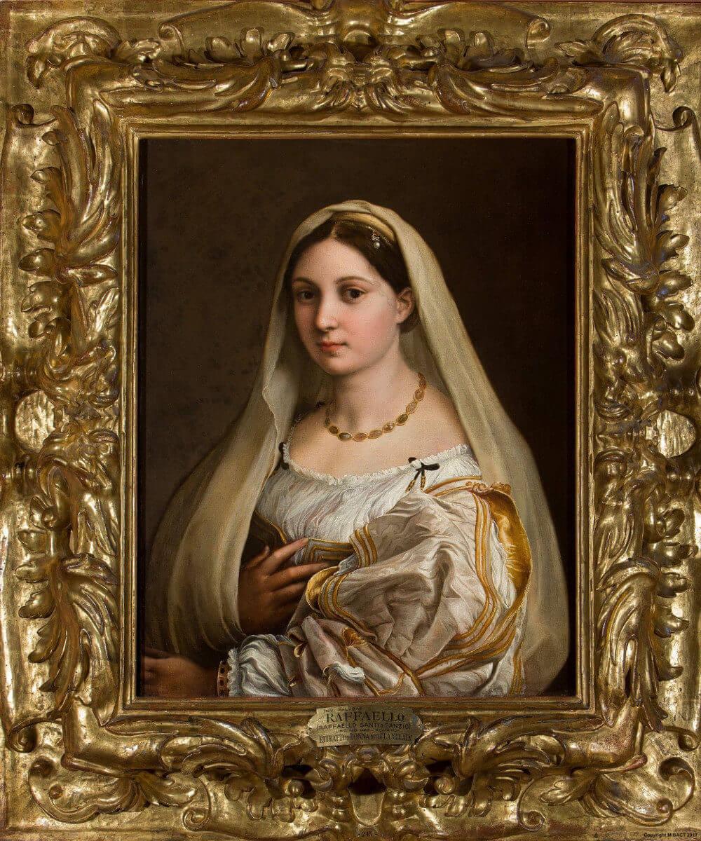 ヴェールを被る婦人の肖像 ラファエッロ・サンツィオ