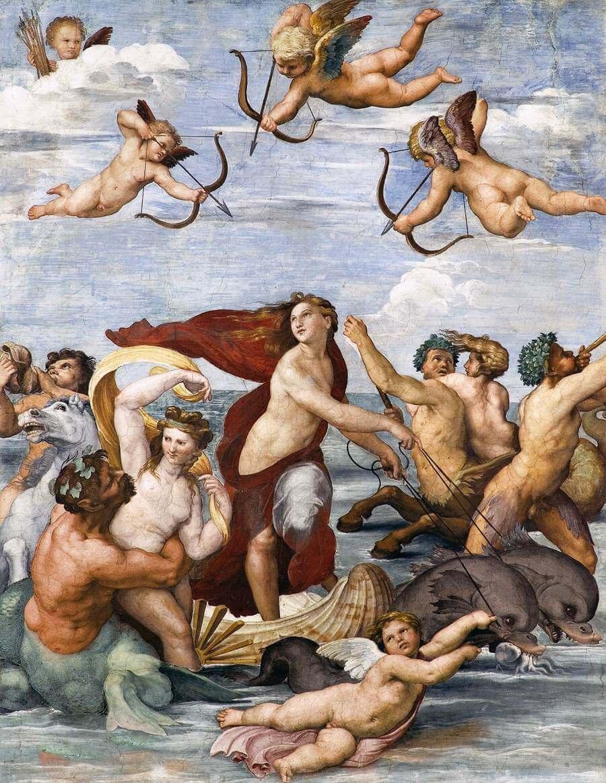 ガラティアの勝利 ラファエッロ・サンツィオ
