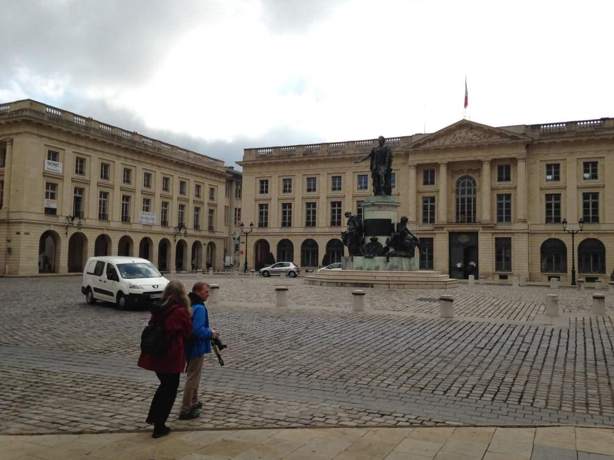 ランスのロワイヤル広場