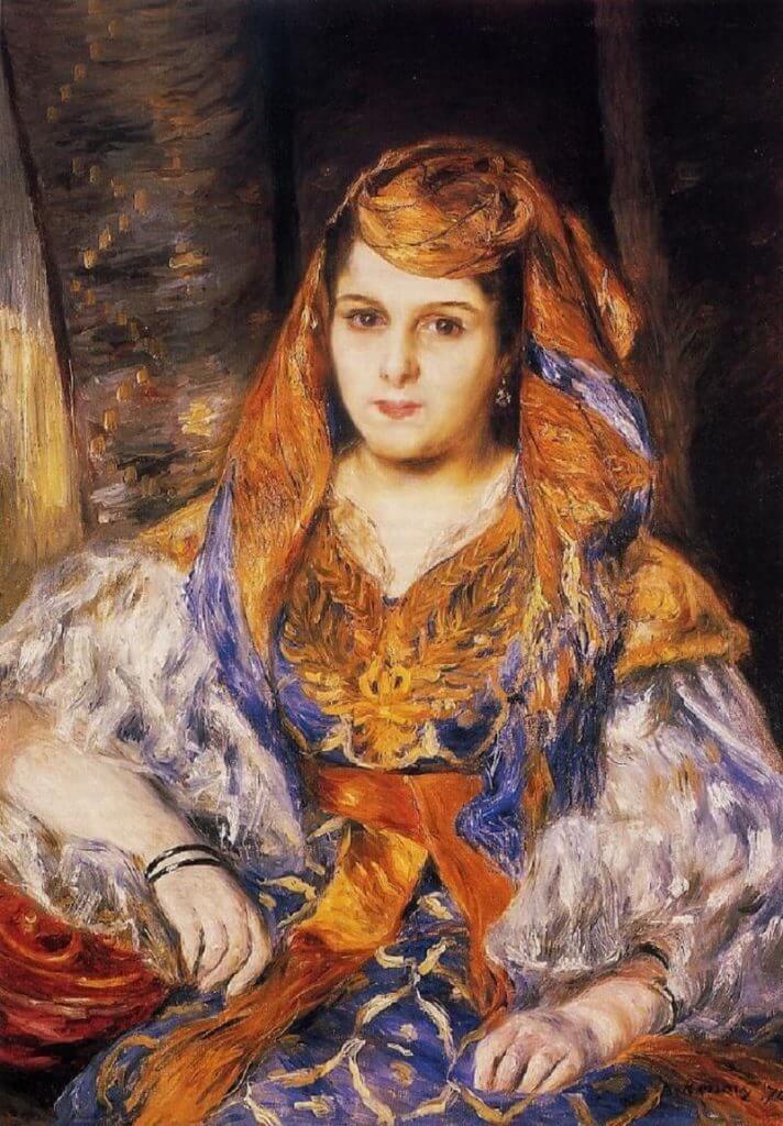 アルジェの女 ルノワール