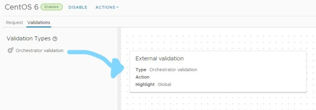 new orchestrator validation