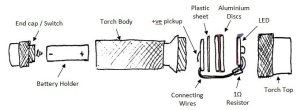 LED torch (flashlight) conversion – design | TG's