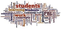 Wordle on Project Based Learning