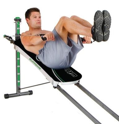 Total Gym Supreme Ab exercises