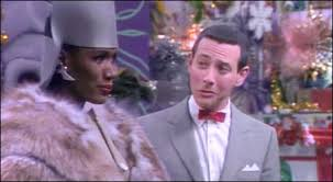 pee wee christmas grace jones pee wee