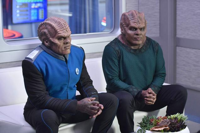 Chad L. Coleman and Peter Macon in The Orville (2019)