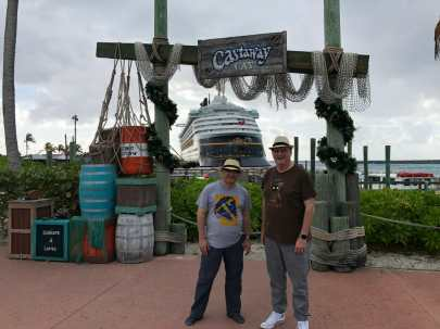 Ben and Keith Castaway Cay