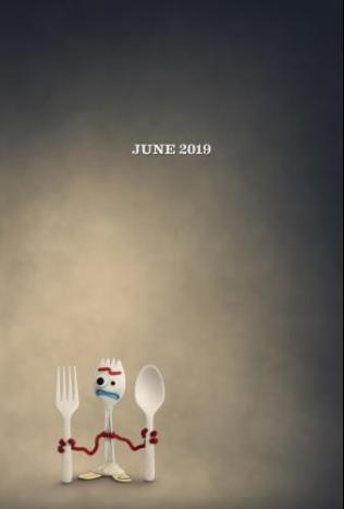 ToyStory45 Forky Poster