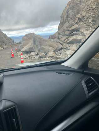 Kitt Peak Rock Slide