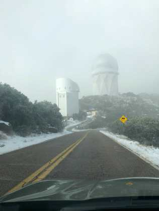 Kitt Peak Snow