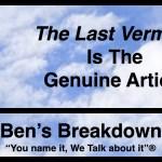 "Ben's Breakdown   ""The Last Vermeer"" Is The Genuine Article"
