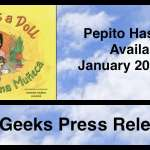 Queer BiLingual Children's Book, Pepito Has a Doll set to Release January 20