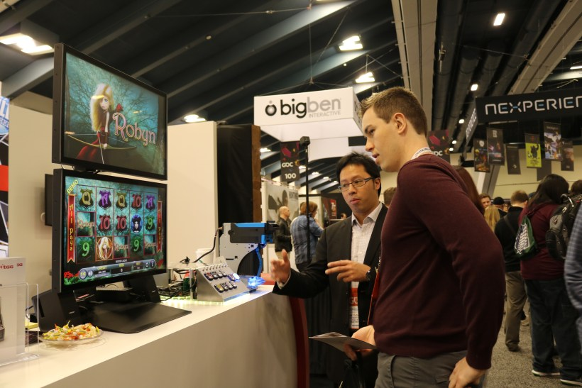 GDC visitor shows interest to slot games
