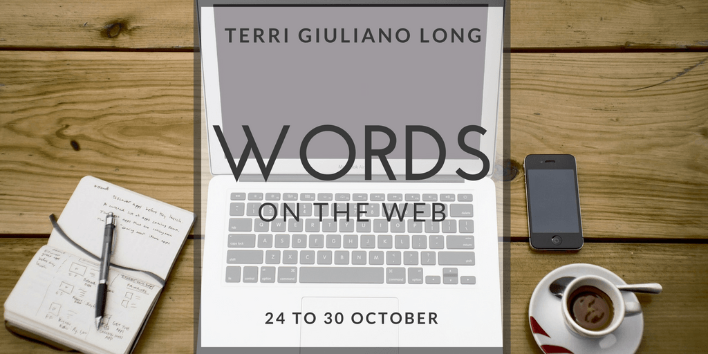 Storify Recap: Words on the Web (24 to 30 October)