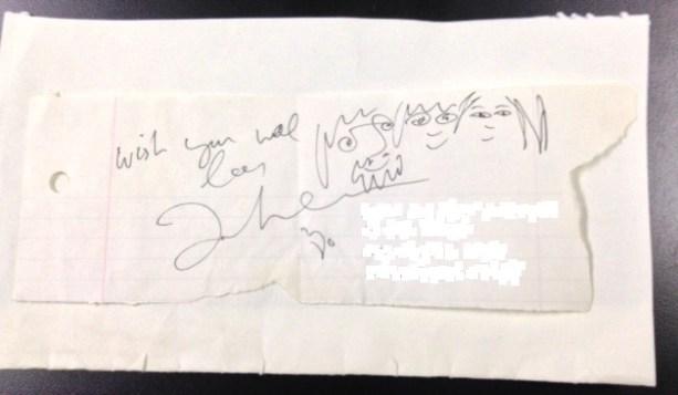 New John Lennon doodle 1