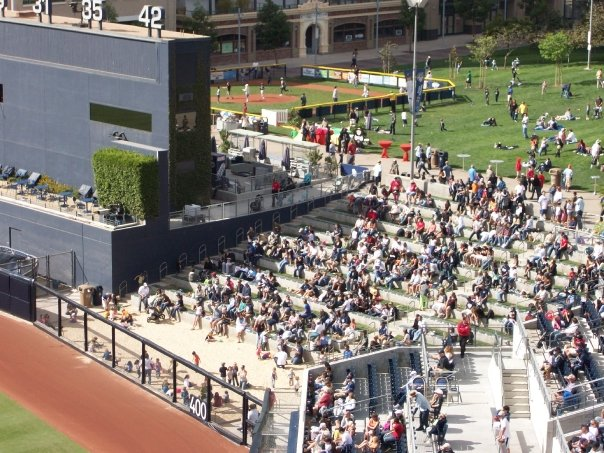 Underrated MLB Ballparks PETCO Park Beach