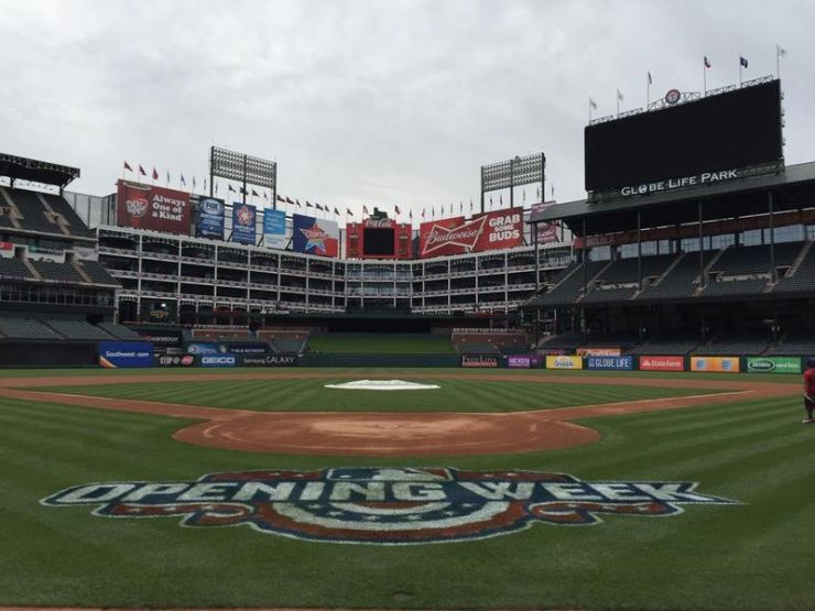 Underrated MLB Ballparks Texas Rangers