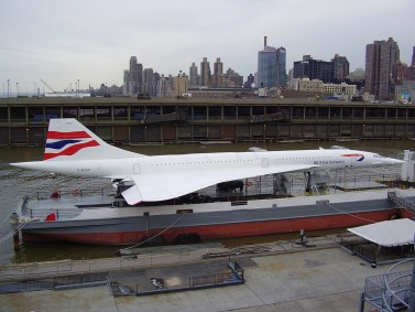 Concorde at USS Intrepid Museum