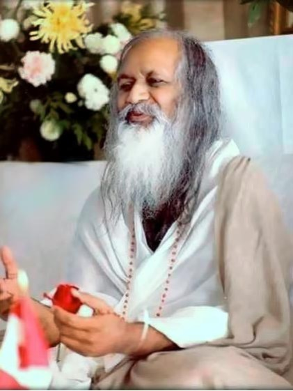 Maharishi Mahesh Yogi, the late leader of T.M.
