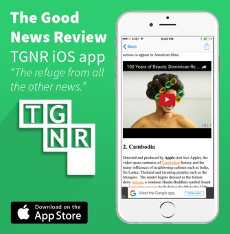 TGNR App advertisement