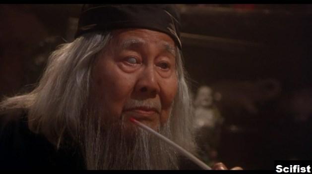 "Keye Luke in ""Gremlins"" (1984)"