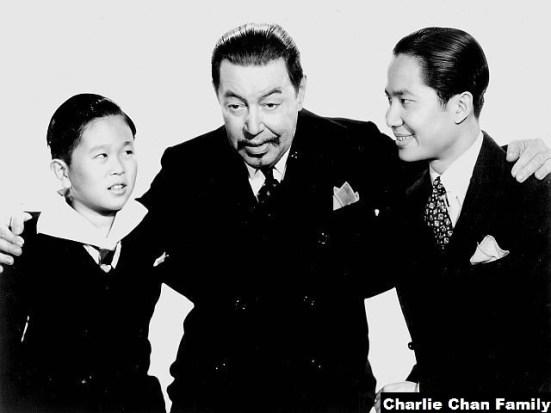Keye Luke & The Charlie Chan Family
