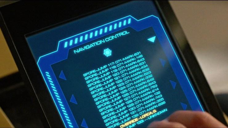 Captain Lorca command console Star Trek: Discovery mid-season return