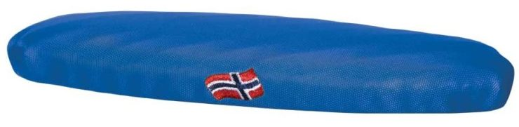 Norway themed competition shoe pads
