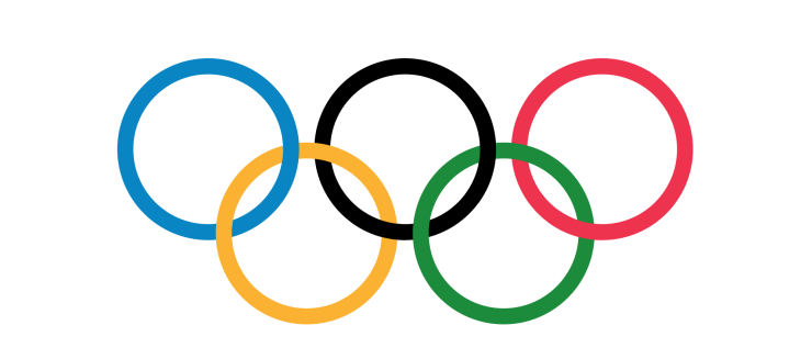 the Olympic Rings official logo