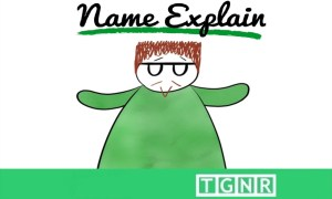 Name Explain intro card w/ animated Patrick Foote
