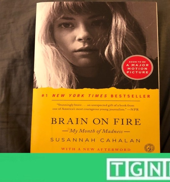 Brain on Fire Susannah Cahalan cover