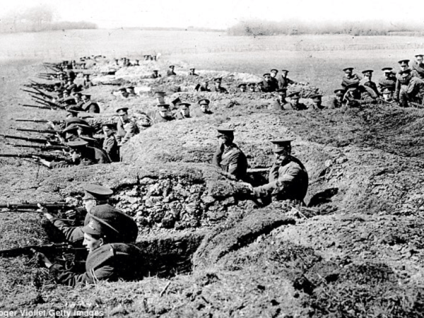 WWI Western Front Trench Warfare: The British wanted to avoid a pyrrhic VE Day