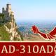 Christian Persecutions in Rome, San Marino,