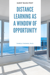 Distance Learning-A Window of Opportunity