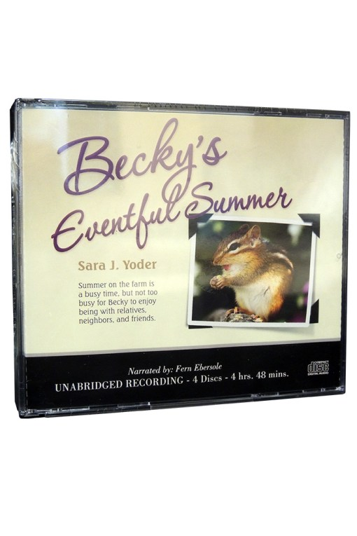 Becky's Eventful Summer Audio CD