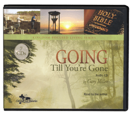 Going Till You Are Gone Audio CD