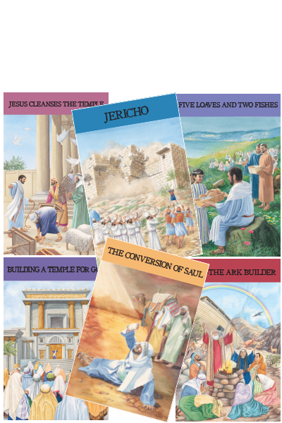 Bible Story Posters