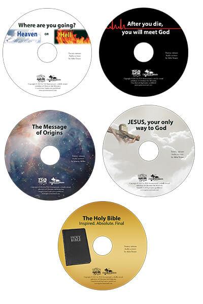 Five Sermon CDs value pack