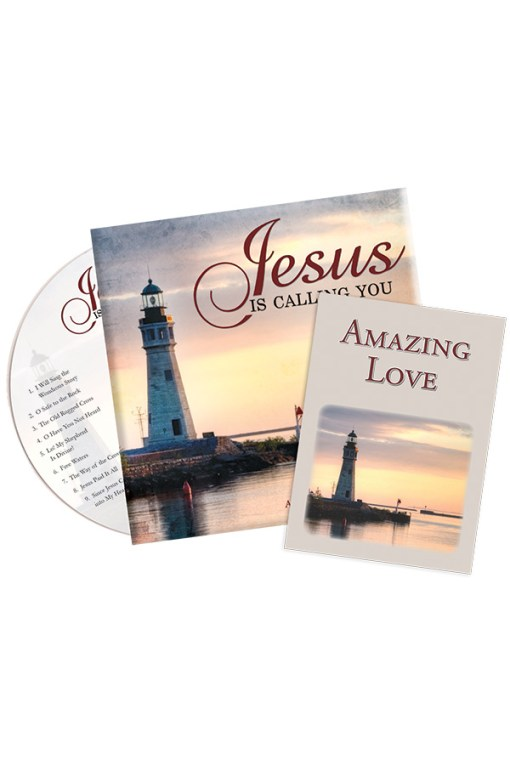 Jesus is Calling You CD in envelope with tract