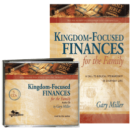 Kingdom-Focused Finances audio & book value pack