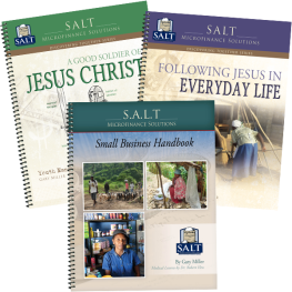 Small Business Handbook, Following Jesus in Everyday Life, and A Good Soldier of Jesus Christ value pack