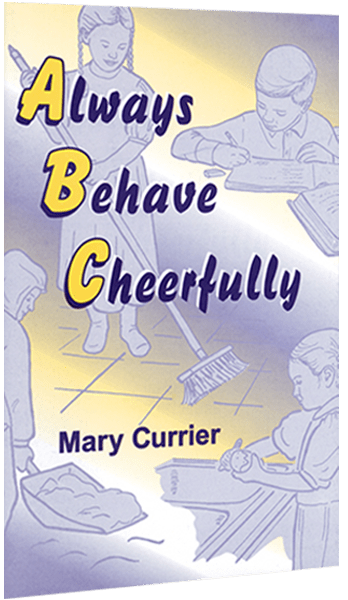 Always Behave Cheerfully Coloring Book