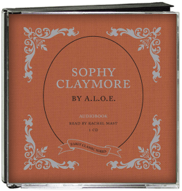 Sophy Claymore Audio CD