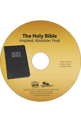 The Holy Bible sermon CD