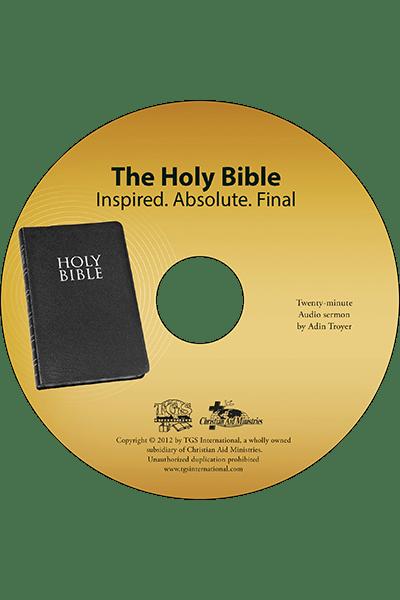 The Holy Bible sermon CD