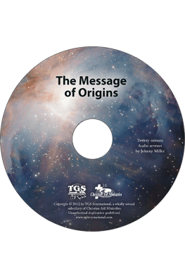 The Message of Origins sermon CD