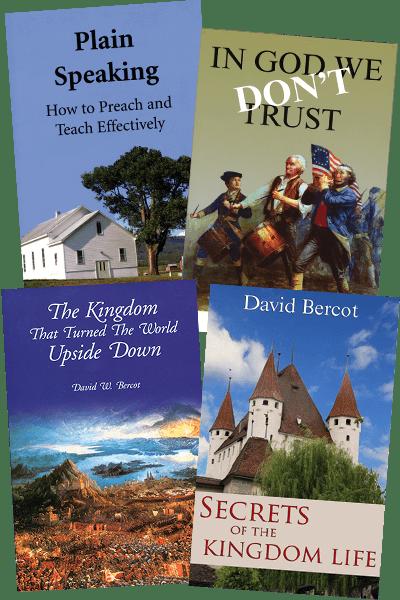 David Bercot~ Four Book Value Pack